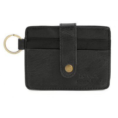 New Vinage Genuine Leather Credit Card&ID Card Holder Wallet Business Bank Card Bag Case Coin Purse