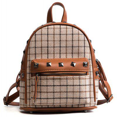 New Wild Lattice Casual Backpack
