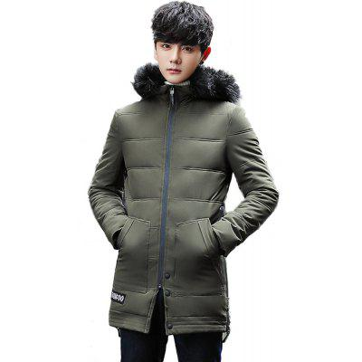 Youth Leisure Cotton Winter Fitted Cotton Jacket