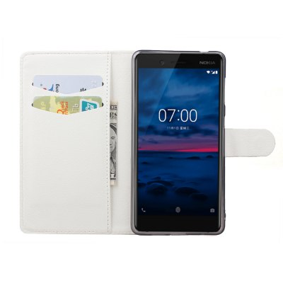 Phone Case for Microsoft Nokia 7 Flip Business Style Case for Nokia 7 Skin Shel
