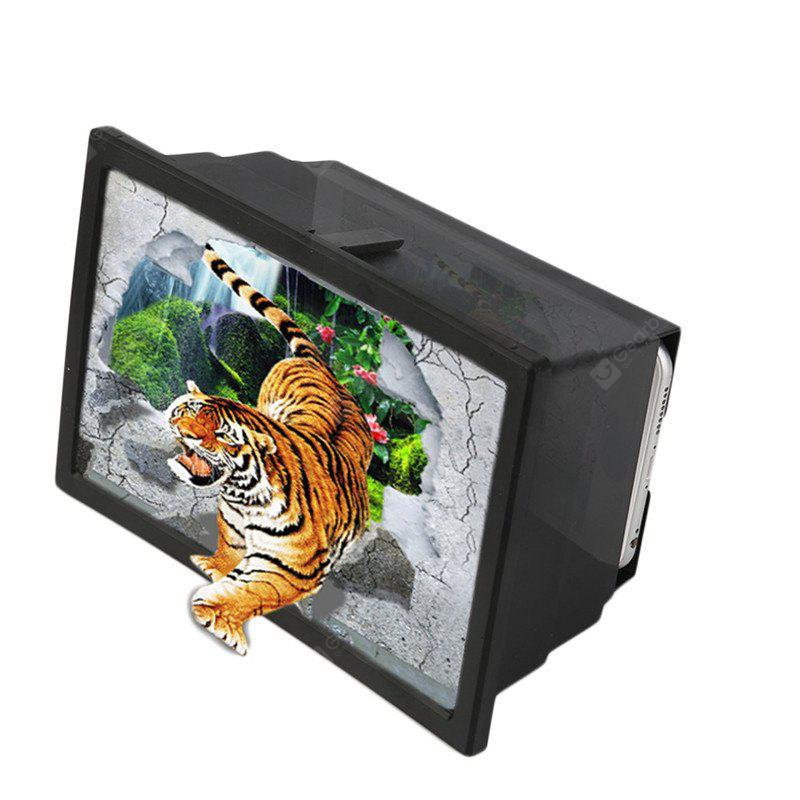2017 Universal Screen Amplifier F2 Professional Mobile Phone Screen Magnifier Portable Size 3D Movie Video Enlarge Stand