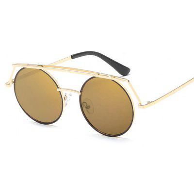 Women's Sunglasses Groovy Round Frame Vintage Glasses Accessory