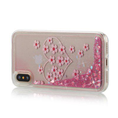 Heart Dynamic Liquid Glitter Sand Quicksand Soft TPU Case for iPhone XiPhone Cases/Covers<br>Heart Dynamic Liquid Glitter Sand Quicksand Soft TPU Case for iPhone X<br><br>Compatible for Apple: iPhone X<br>Features: Anti-knock<br>Material: TPU<br>Package Contents: 1 x Phone Case<br>Package size (L x W x H): 15.00 x 8.00 x 1.20 cm / 5.91 x 3.15 x 0.47 inches<br>Package weight: 0.0450 kg<br>Style: Cool