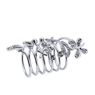 Womens Ring Shiny Zircon RingRings<br>Womens Ring Shiny Zircon Ring<br><br>Gender: For Women<br>Metal Type: Silver Plated<br>Package Content: 1 x Ring<br>Package size (L x W x H): 5.00 x 5.00 x 2.20 cm / 1.97 x 1.97 x 0.87 inches<br>Package weight: 0.0090 kg<br>Ring Size (US Size): 8<br>Ring Width: 4.7cm x 2.2cm<br>Shape/Pattern: Plant<br>Stone Color: Transparent<br>Style: Classic<br>Surface Plating: Silver Plated