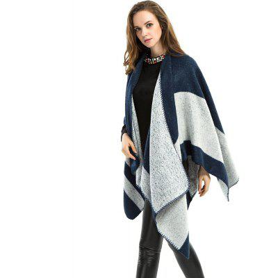 Z1568 fashion warm blue shawl