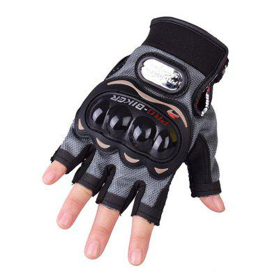PRO-BIKER Motorcycle Cross-country Racing Semi Finger Gloves MCS - 04C