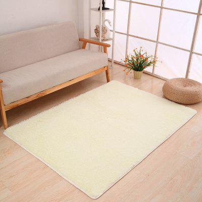 Buy WHITE 50X80CM Door Rug Simple Fresh Style Rectangle Yoga Mat for $10.29 in GearBest store