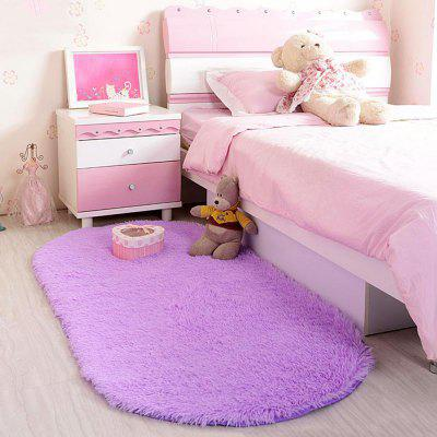 Home Bedside Floor Rug Simple Solid Washable Soft Oval Shaped  Door MatCarpets &amp; Rugs<br>Home Bedside Floor Rug Simple Solid Washable Soft Oval Shaped  Door Mat<br><br>Category: Mat,Carpet<br>For: All<br>Material: Silk, Others, Polyester fibre<br>Occasion: Office, Dining Room, Bedroom, Bathroom, Kitchen Room, Living Room<br>Package Contents: 1 x carpet<br>Package size (L x W x H): 10.00 x 15.00 x 5.00 cm / 3.94 x 5.91 x 1.97 inches<br>Package weight: 0.1200 kg