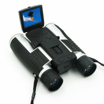 12x32mm Digital Camera Binoculars with 2 Inch LCD Display 5MP Video Photos Recorder