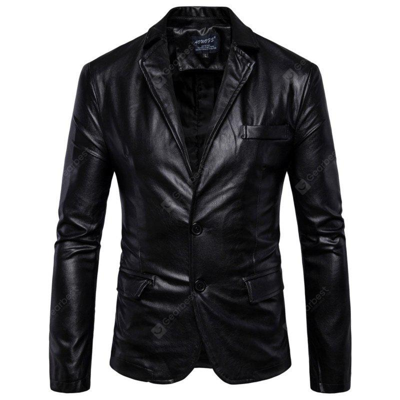 New Fashion British Foreign Trade Men'S Clothing Simple To Repair Leather ClothesB011