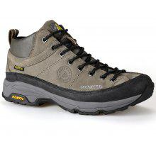 Hiking Shoes Men Leather Climbing Boots Rubber Sneaker