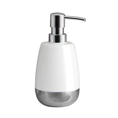 ORZ 350ml Pump Soap Dispenser Bottle Stainless steel liquid lotion Bottle Bathroom Shampoo Container