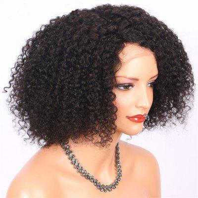 Brazilian Virgin Human Hair Kinky Curly Bob Lace Fron Wig 14 16 18InchHuman Hair Wigs<br>Brazilian Virgin Human Hair Kinky Curly Bob Lace Fron Wig 14 16 18Inch<br><br>Bang Type: None<br>Can Be Permed: Yes<br>Cap Construction: Lace Front<br>Cap Size: Adjustable<br>Gender: Female<br>Hair Density: 130 Heavy Density<br>Lace Wigs Type: Lace Front Wigs<br>Length: Medium<br>Length Size(Inch): 14 16 18<br>Net Type: Lace Net<br>Package Contents: 1 x wig<br>Package size (L x W x H): 5.00 x 3.00 x 2.00 cm / 1.97 x 1.18 x 0.79 inches<br>Package weight: 0.1800 kg<br>Style: Curly<br>Type: Half Wigs