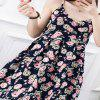 2018 New Spring All-Match Fashion Cotton Women'S Dress - BLUE