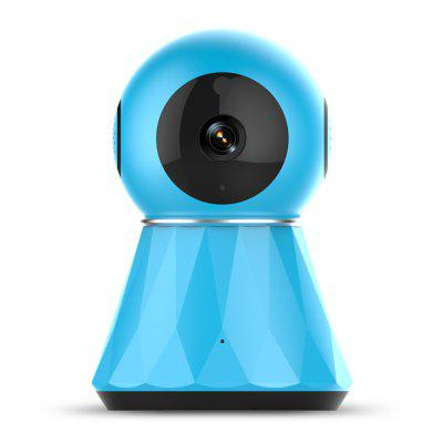 13T 960P WIFI IP CAM Sonic Recognition Day/Night Vision Two-Way Audio Motion Detection Mobile Push Alerts Support 128GB Micro SD