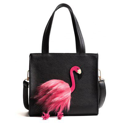 Flamingo Handbag Wild Small Square Shoulder Bag Diagonal Shoulder Bag