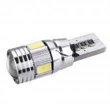 T10 501 194 W5W 5630 LED 6 SMD Canbus Error Free Car License Plate Light Glove Box Light