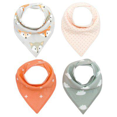 Super Absorbent /& Soft for Teething Babies T Bandana Dribble bibs