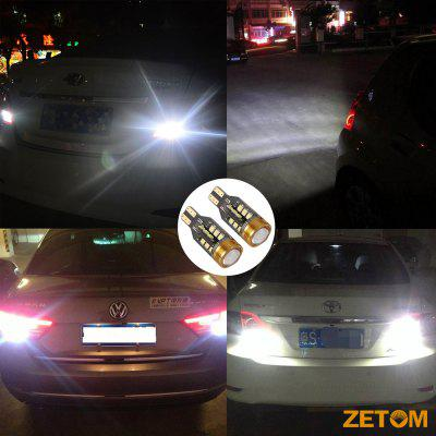 ZETOM Extremely Bright Error Free 921 912 T15 W16W 24SMD 1 COB 6000K Chipsets 2835 LED Bulbs Backup Reverse Light 2-PackCar Lights<br>ZETOM Extremely Bright Error Free 921 912 T15 W16W 24SMD 1 COB 6000K Chipsets 2835 LED Bulbs Backup Reverse Light 2-Pack<br><br>Adaptable automobile mode: Honda, Toyota<br>Connector: T15<br>Emitting color: White<br>Package Contents: 2 x Backup Reverse Light Bulbs<br>Package size (L x W x H): 5.00 x 5.00 x 3.00 cm / 1.97 x 1.97 x 1.18 inches<br>Package weight: 0.1000 kg<br>Type: Reversing lamp<br>Type of lamp-house: LED