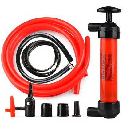 Car Inflatable Pump Portable Manual Oil Pump Hand Siphon Tube Car Hose Liquid Gas Transfer Sucker Suction