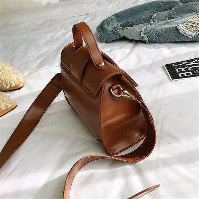 New Female All-Match Bag Satchel Tide Lady HandbagCrossbody Bags<br>New Female All-Match Bag Satchel Tide Lady Handbag<br><br>Closure Type: Zipper<br>Gender: For Women<br>Handbag Type: Crossbody bag<br>Interior: Cell Phone Pocket<br>Main Material: PU<br>Occasion: Versatile<br>Package Contents: 1 x bag<br>Package size (L x W x H): 21.00 x 9.00 x 18.00 cm / 8.27 x 3.54 x 7.09 inches<br>Package weight: 0.8000 kg<br>Pattern Type: Solid<br>Product size (L x W x H): 21.00 x 9.00 x 18.00 cm / 8.27 x 3.54 x 7.09 inches<br>Product weight: 0.7000 kg<br>Style: Fashion