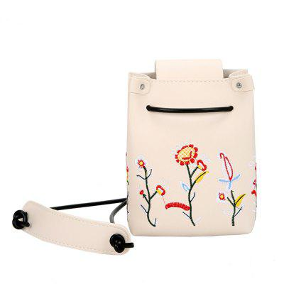 Embroidered Shoulder Messenger Small Bag Female Wild Student Girl Bag