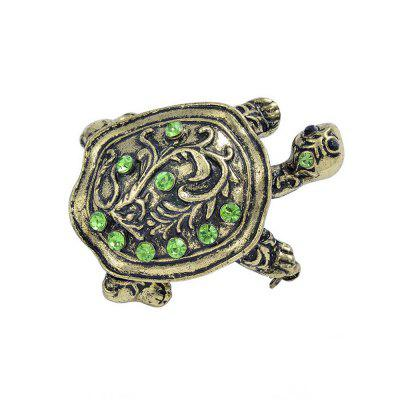 Turtle Brooches For Women And Men Alloy Couple Turtle Animal Brooch Pins For Suits Sweater Dress Hat Scarf Pins
