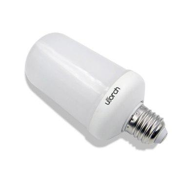 Utorch LED Light Flickering Flame BulbGlobe bulbs<br>Utorch LED Light Flickering Flame Bulb<br><br>Color Temperature or Wavelength: 1900 - 2200 K<br>Connection: Others<br>Connector Type: E27/E26<br>Dimmable: No<br>Features: Decorative<br>Initial Lumens ( lm ): 400 - 500 LM<br>LED Beam Angle: 360 Degree<br>LED Quantity: 99 LED<br>LED Type: SMD 3528<br>Lifetime ( h ): More Than  50000<br>Light Source Color: Yellow<br>Material: PC<br>Package Contents: 1 x LED Flame Effect Bulb<br>Package size (L x W x H): 15.00 x 7.00 x 7.00 cm / 5.91 x 2.76 x 2.76 inches<br>Package weight: 0.0950 kg<br>Power Supply: AC Charger<br>Primary Application: Bedroom,Children Room,Christmas Decor Favor,Decorate wedding scene,Dinner Decor,Everyday Use,Hallway or Stairwell,Home Decoration,Home or Office,Hotel Dining Table,Living Room,Living Room or Dining Ro<br>Product weight: 0.0700 kg<br>Type: LED Bulb<br>Voltage: AC85-265V<br>Wattage: 5W
