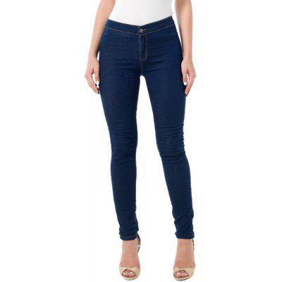 2017 neue Hohe Taille Stretch Denim Jeans