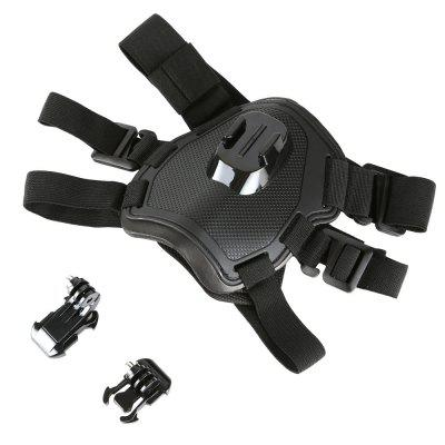 T6 Dog Straps Chest and Back Dual-use Sports Camera Accessories for Gopro Xiaomi SJ4000/7000/5000