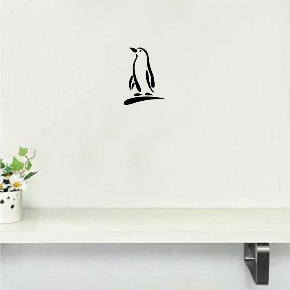 DSU Cute Penguin Vinyl Wandaufkleber Cartoon Tier Wandtattoo für Schlafzimmer Home Decor