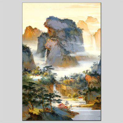 Hua Tuo Landscape Oil Painting Size 60 x 90CM OSR-160641