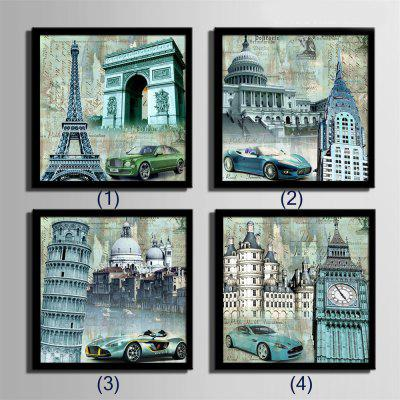 Special Design Frame Paintings The Sports Car Print 4PCSPrints<br>Special Design Frame Paintings The Sports Car Print 4PCS<br><br>Craft: Print<br>Form: Four Panels<br>Material: Canvas<br>Package Contents: 4 x Print<br>Package size (L x W x H): 32.00 x 33.00 x 6.50 cm / 12.6 x 12.99 x 2.56 inches<br>Package weight: 1.7000 kg<br>Painting: Include Inner Frame<br>Product size (L x W x H): 30.00 x 30.00 x 1.50 cm / 11.81 x 11.81 x 0.59 inches<br>Product weight: 1.6000 kg<br>Shape: Square<br>Style: Vintage, Fashion, Active, Formal, Casual, Novelty<br>Subjects: Fashion<br>Suitable Space: Indoor,Outdoor,Cafes,Kids Room,Kids Room,Study Room / Office