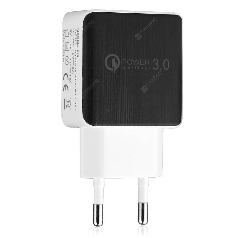 QC 3.0 5V/3A Quick Charge EU Plug USB AC Charger / USB Wall Charger
