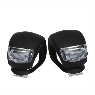 2pcs LED Motorcycle Tail Lamp Bikecycle Warning Flashing Light