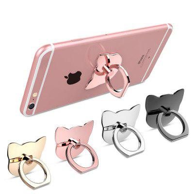 360 Degree Cat Metal Finger Phone Ring HolderStands &amp; Holders<br>360 Degree Cat Metal Finger Phone Ring Holder<br><br>Mainly Compatible with: Universal<br>Material: Plastic, Metal<br>Package Contents: 1 x Phone Holder<br>Package size (L x W x H): 5.00 x 5.00 x 3.00 cm / 1.97 x 1.97 x 1.18 inches<br>Package weight: 0.0100 kg<br>Product size (L x W x H): 3.00 x 3.00 x 1.00 cm / 1.18 x 1.18 x 0.39 inches<br>Product weight: 0.0090 kg