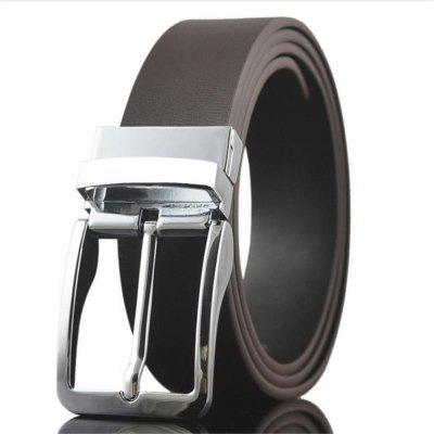 Men'S Business Casual Leather Cowhide Leather Belt