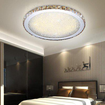 Modern Simple Creative Style LED Crystal  Flush Mount Round Shape for Living Dining Room Bedrooms