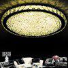Modern Simple Creative Style LED Crystal  Flush Mount Round Shape for Living Dining Room Bedrooms - WARM WHITE