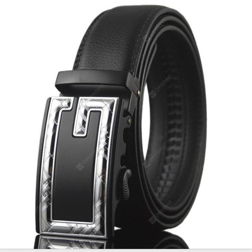 Men's Leisure Business Automatic Leather Belt