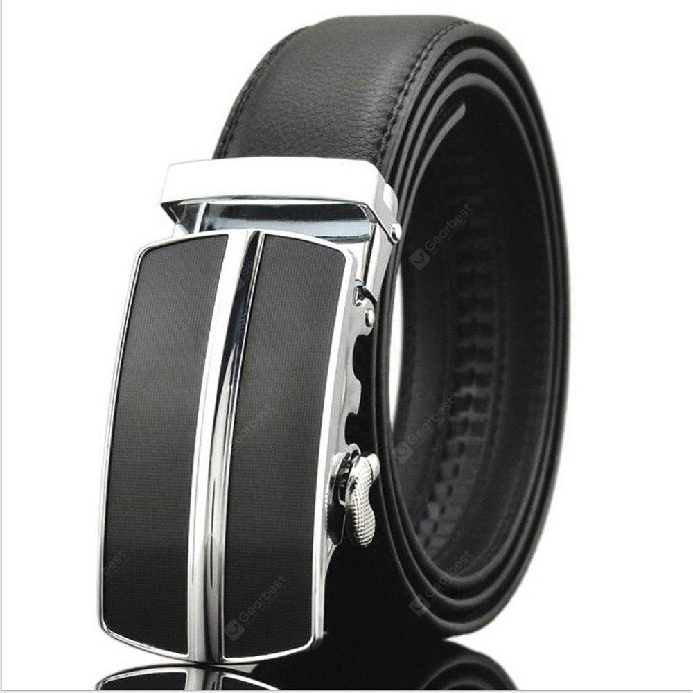Men's Genuine Leather and High Grade Automatic Leather Belt