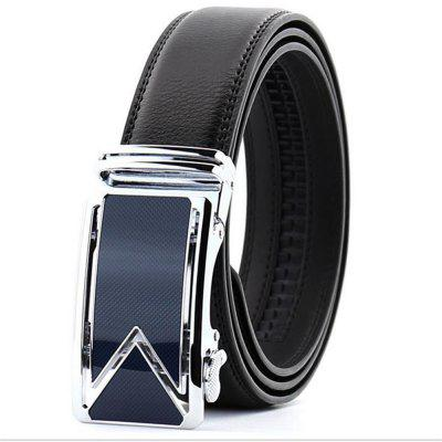 Men's Gift Automatically Buckle The Leather Belt