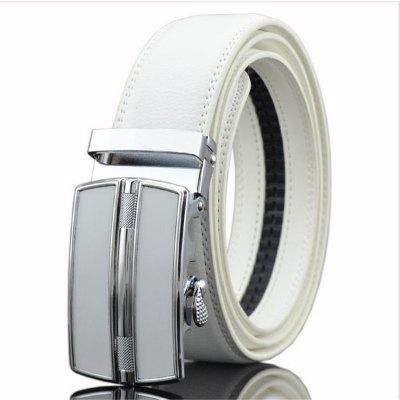 New Men's Leisure Business Automatic Buckle Belt