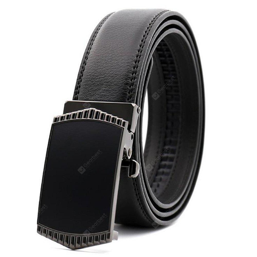 Hot Sale of Men's High-End Business Automatic Buckle Belt