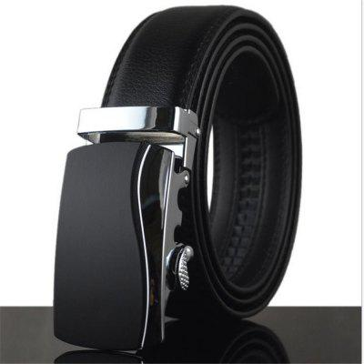 Men's Business Automatic Leather Belt