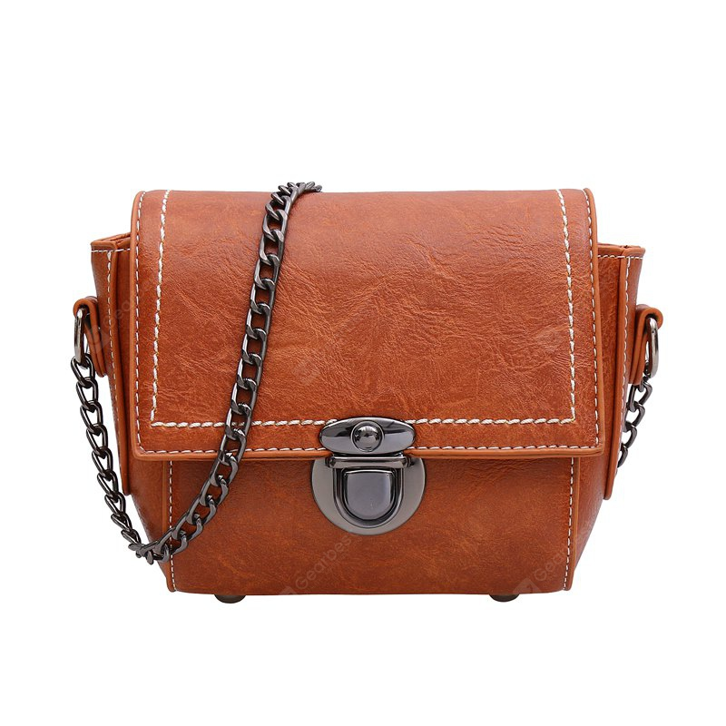 All Match Simple chain Messenger Bag for women