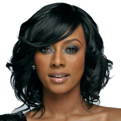 Women's Fashion Short Wig Natural Wavy Curls Hair Wigs