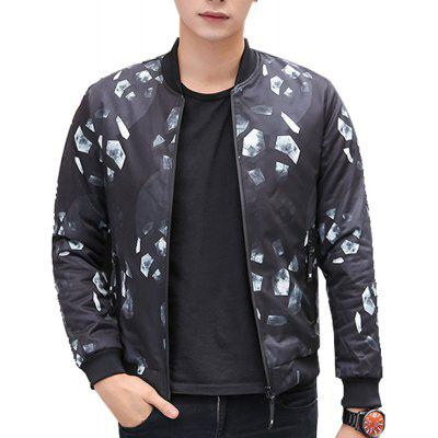 Men's Casual Jacket  Solid Color Comfy Chic All Match Jacket