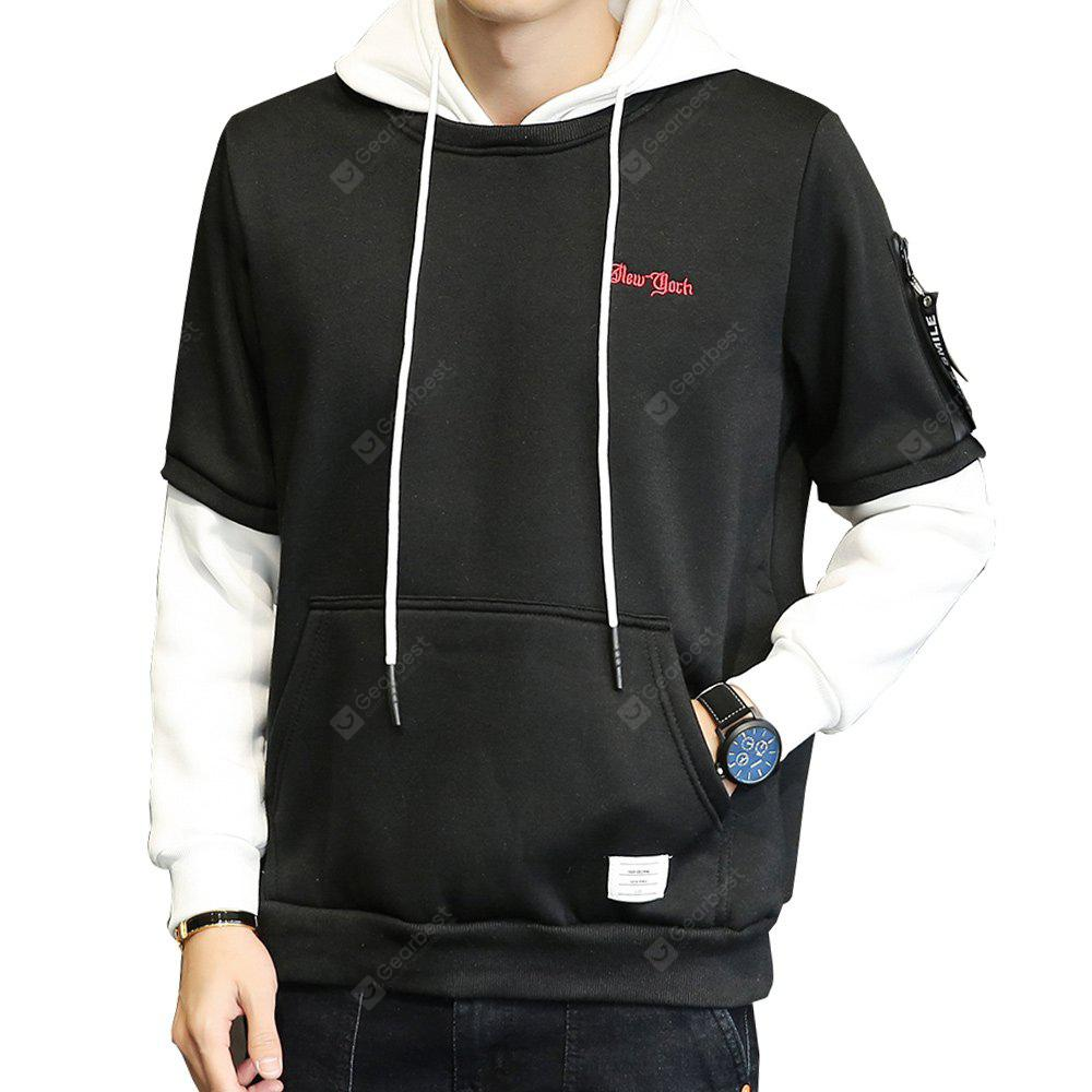 Men's  Hoodie Casual Fashion  Letter Pattern Hoodie