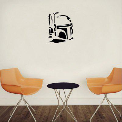 DSU Classic etiqueta de la pared de dibujos animados Boba Fett Vinyl Decal Home Decor
